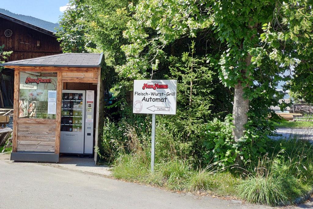 Dorfmetzgerei Max Mann Wurst Grill Fleischautomat Altenmarkt